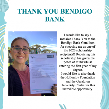 Abbey Benham - Bendigo Community Bank Geraldton